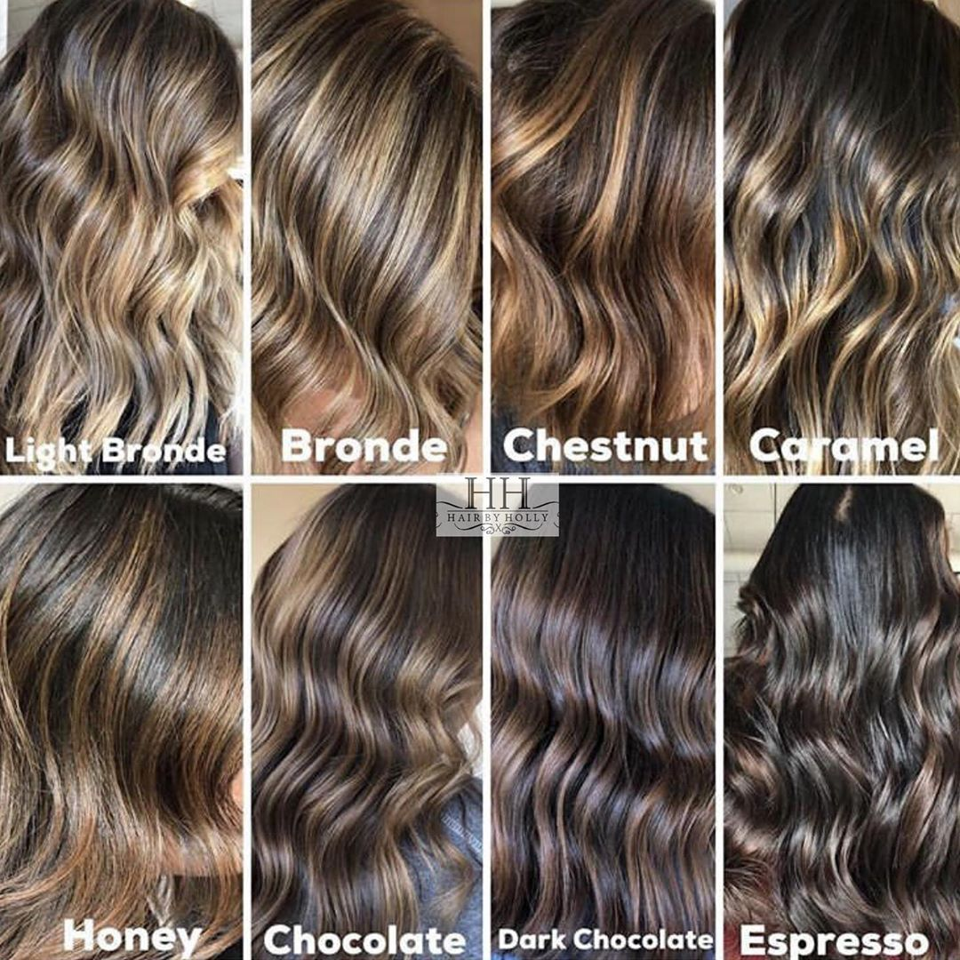 The Best Hair Color Chart With All Shades Of Blonde Brown Red Black Hair Color Chart Brunette Hair Color Brown Hair Color Chart