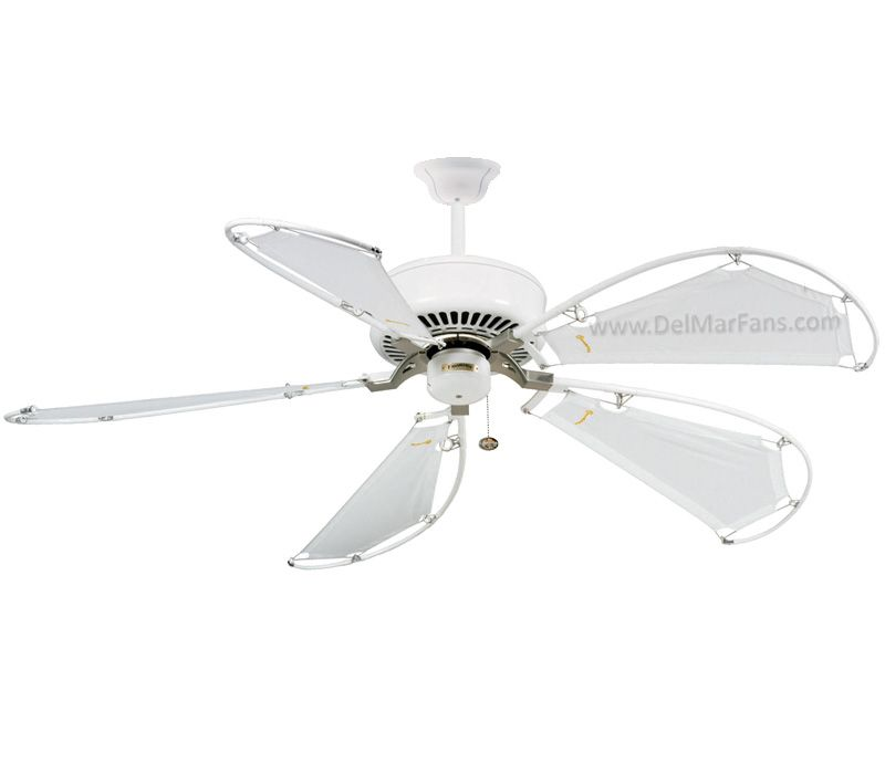 Casablanca 59510 Panama 54 Ceiling Fan With Remote Snow White