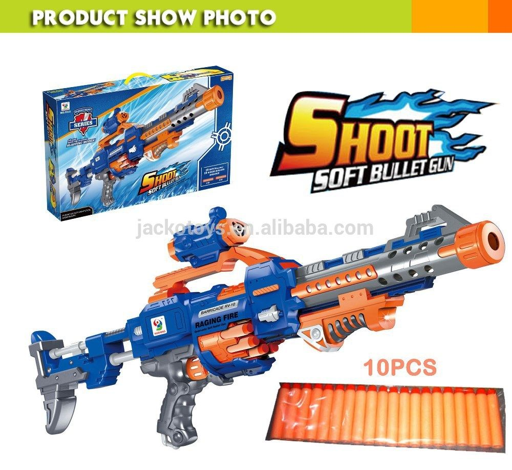 2015 Nerf Blaster Air Gun Pistola De Pressao free Shipping Can Launch 10  Series of Electric