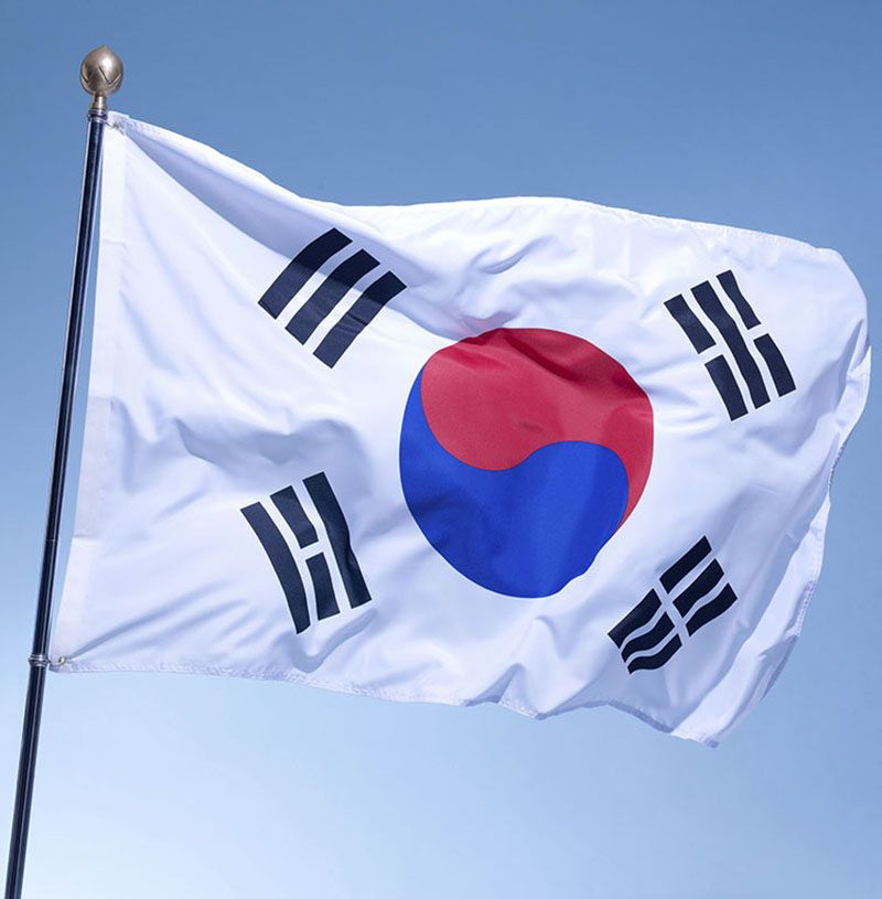 Large South Korea Flag Polyester the Korean National Banner 3x5ft Taegeukgi parade/Festival/Home Decoration New fashion * More details can be found by clicking on the image. #HomeDecor