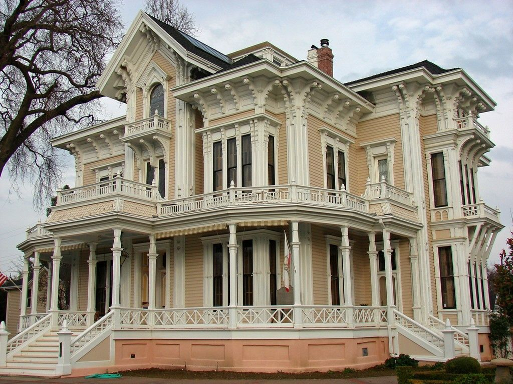 Italianate Victorian House Victorian Homes Old Victorian Homes Victorian Architecture