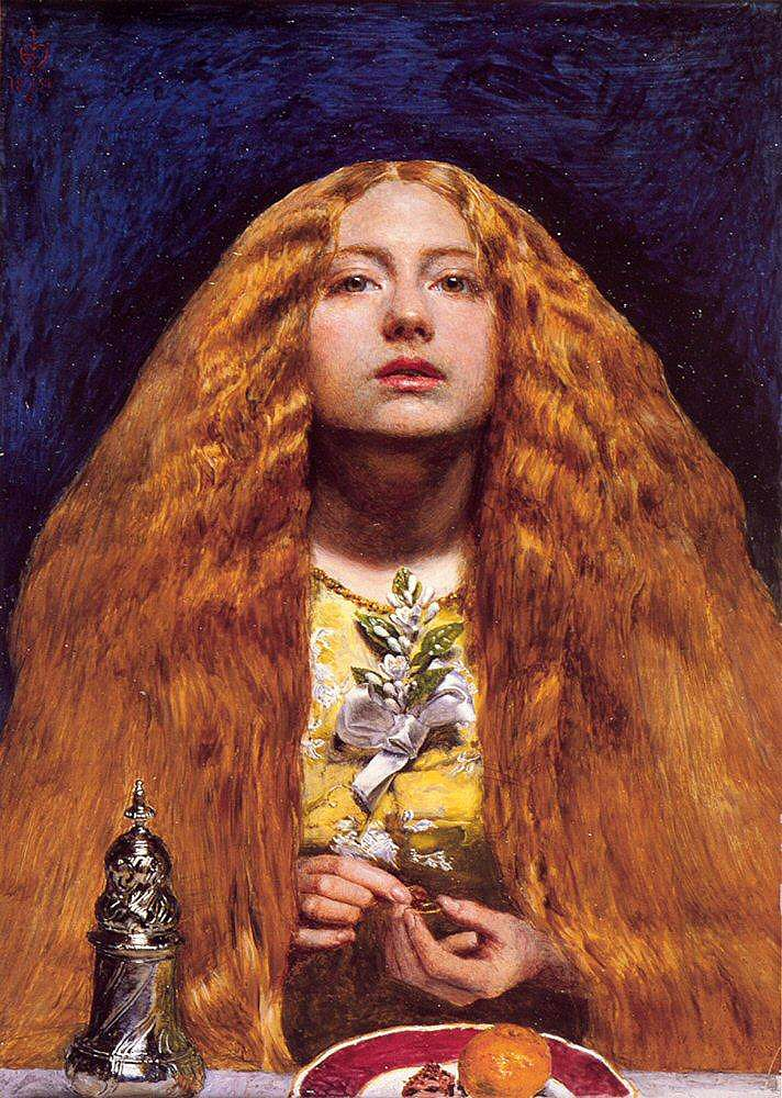 Sir John Everett Millais - The Bridesmaid