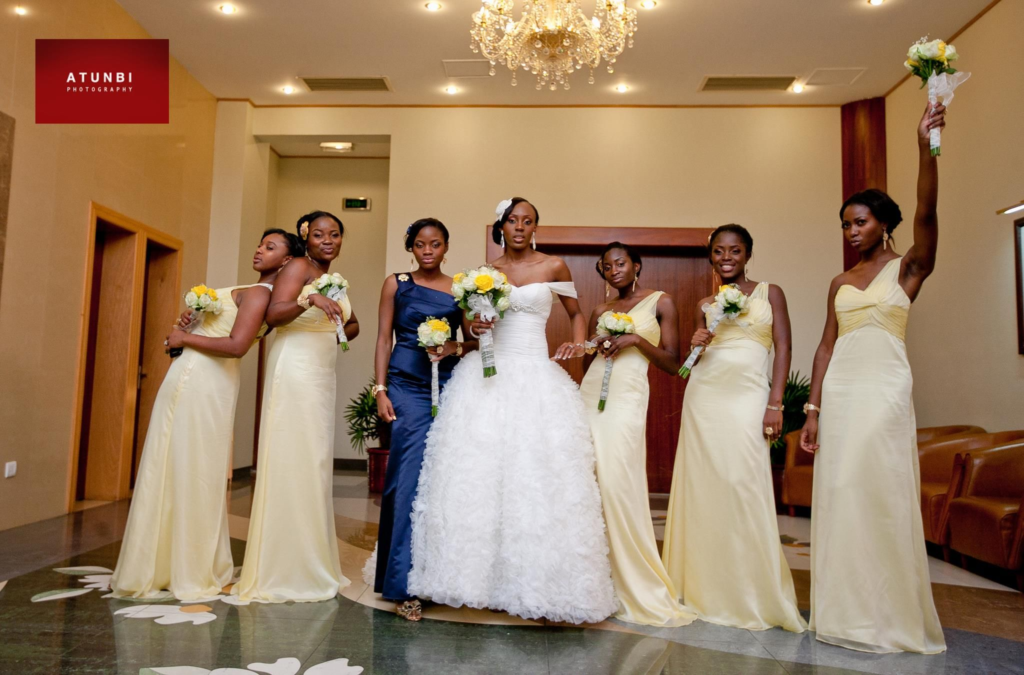 African wedding dresses for guests  African Sweetheart Weddings Smoking Hot Bridesmaids Part