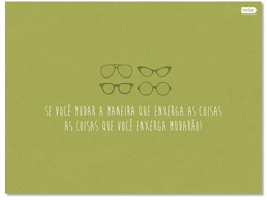 Wallpaper Tanlup Serie Frases Oculos Frases Bacanas