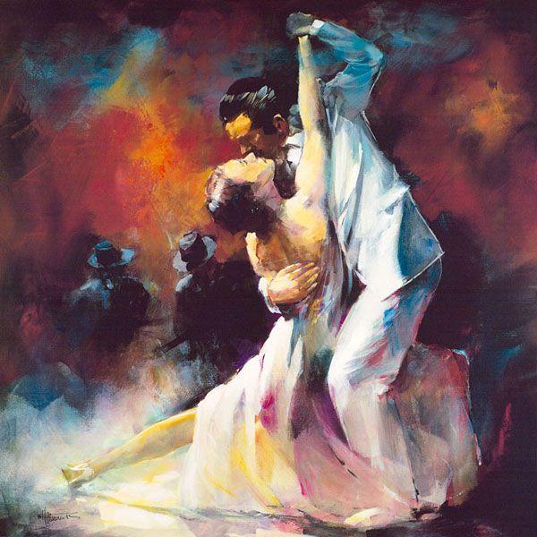 tango by willem haenraets impressionist tango and dancing. Black Bedroom Furniture Sets. Home Design Ideas