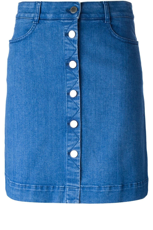 Stella McCartney skirt, $565, farfetch.com.   - HarpersBAZAAR.com