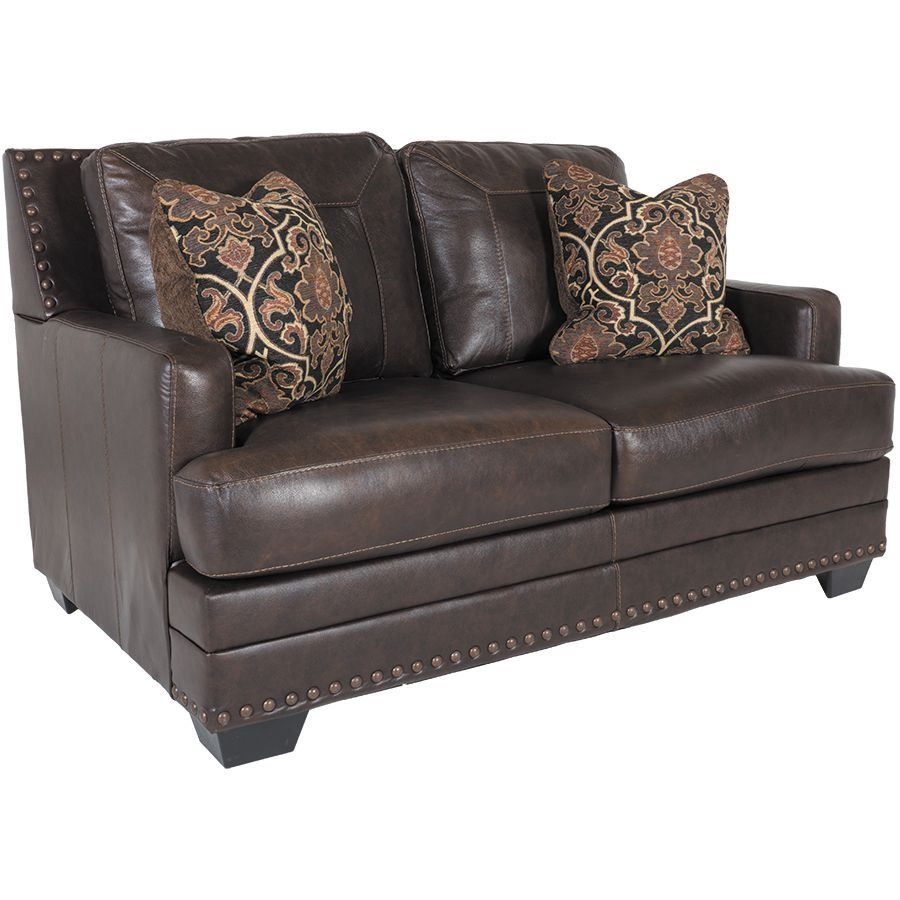 Picture of Corvan Leather Loveseat