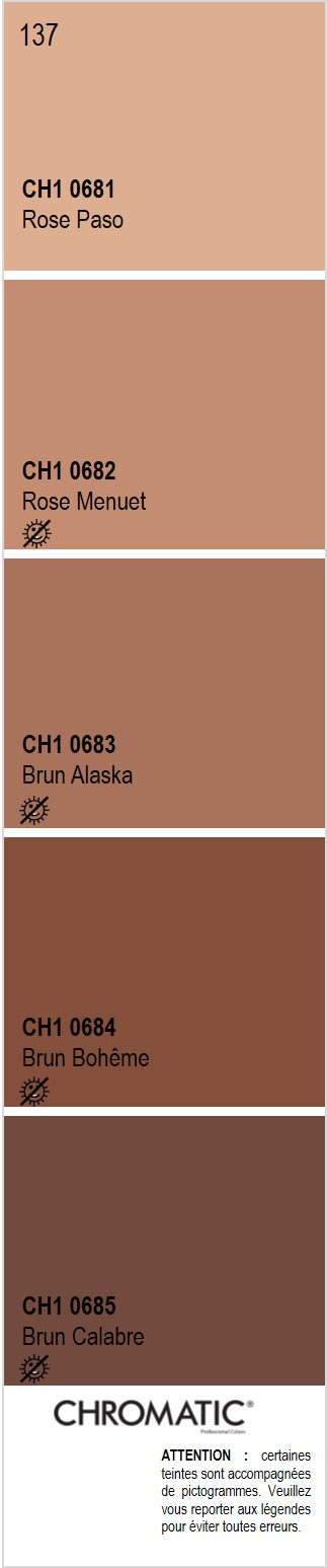 D couvrez toutes les nuances de brun du nuancier chromatic - Les nuances de violet ...