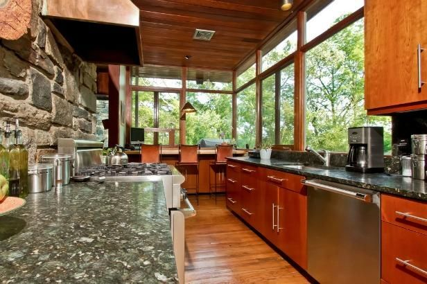 Galley Shaped Kitchen Designs