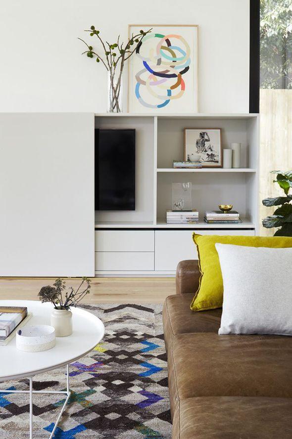 Schuifwand voor tv - * Kasten * | Pinterest - Tv, Kast en Tv kast