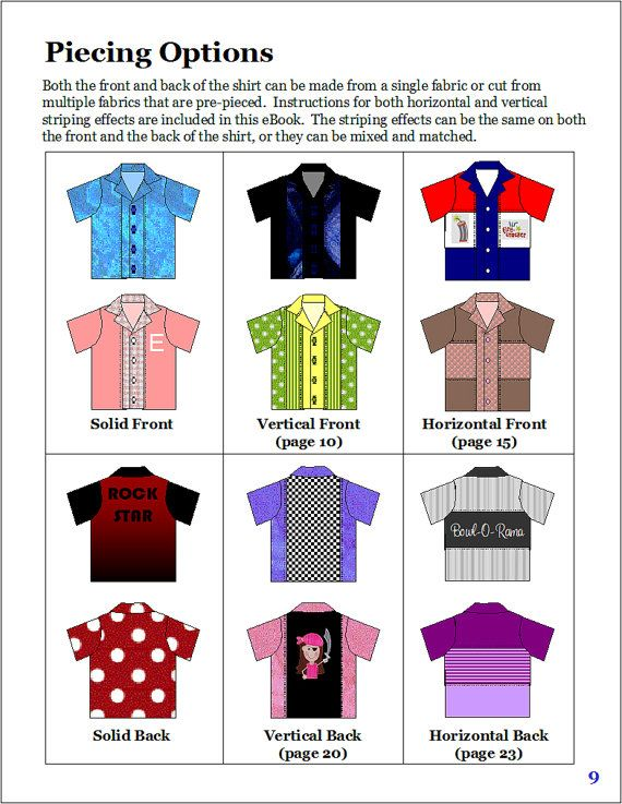 Sew bowling shirts for men (and women) using this versatile, easy to ...