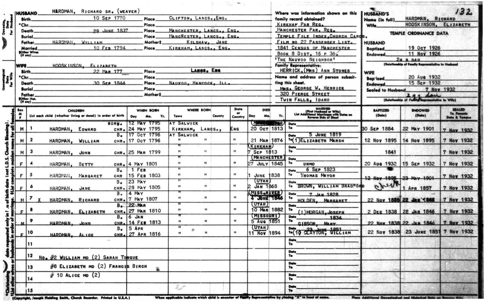 Free family history forms for you to download and print ... |Family History Sheet