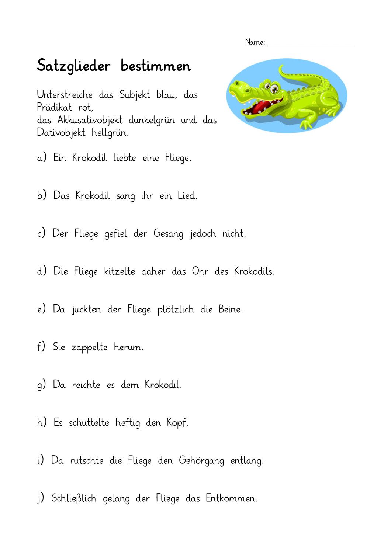 Wie fragt man nach dem Objekt? - Deutsch Klasse 5