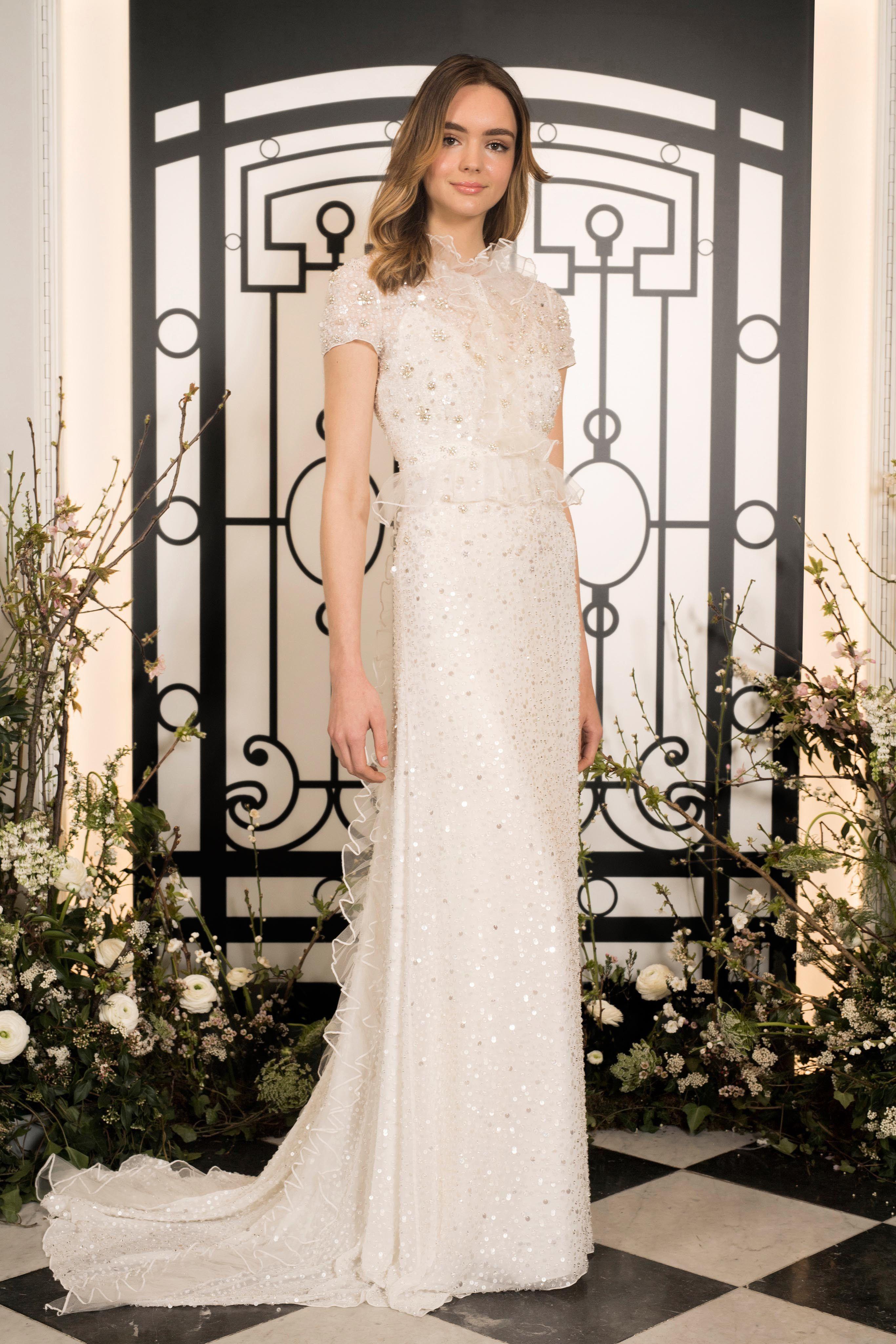Jenny Packham Bridal Spring 2020 Fashion Show Jenny Packham