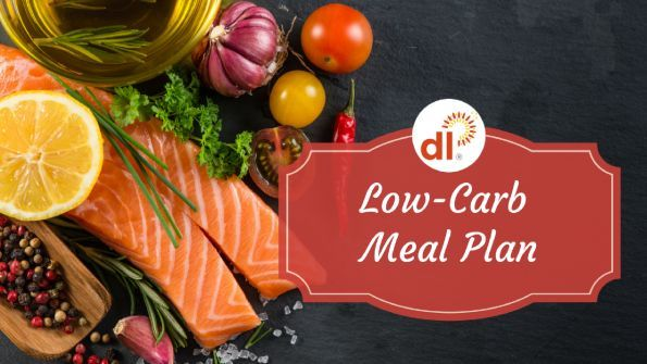One-week low carb meal plan