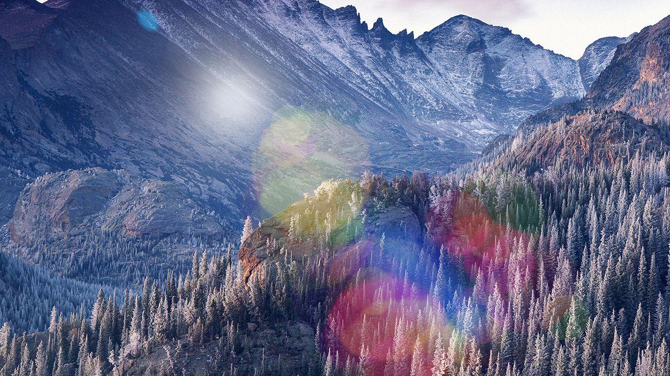 Desktop Wallpaper Laptop Mac Macbook Air Mm08 Winter Mountain