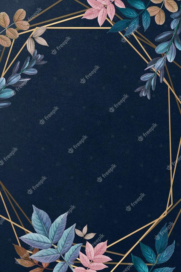 Download Botanical Framed Card for free