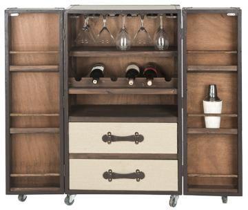 Easton Bar Cabinet Bar Cabinet Home Bar Cabinet Steamer Bar