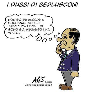 Sofferta decisione di Berlusconi sulla partecipazione alla manifestazione leghista di Bologna