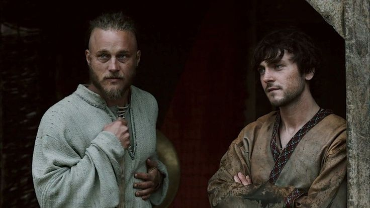 Ragnar and Athelstan/ VIKINGS