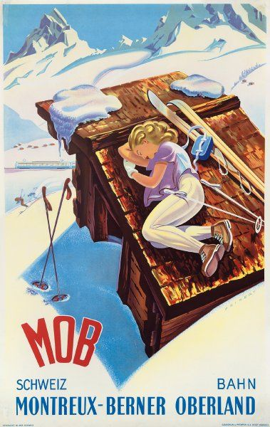 Reiseplakate: Wandgrüße aus längst vergangener Zeit