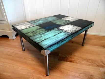 Wow Cooler Shabby Chic Couchtisch Tisch Holztisch In
