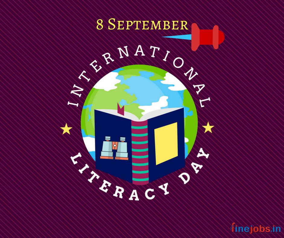 Happy InternationalLiteracyDay! Literacy skills and