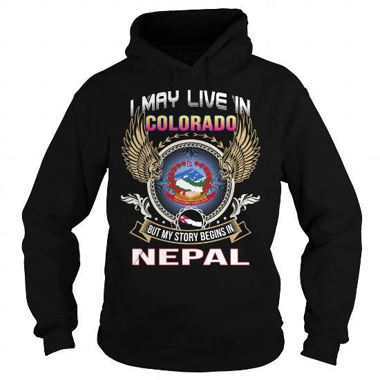 Colorado-Nepal - #tshirt drawing #sweatshirt you can actually buy.  Colorado-Nepal, sweatshirt redo,off the shoulder sweatshirt. TRY =>...