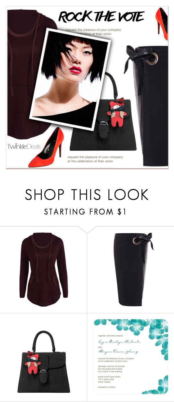 """""""Rock the Vote"""" by janee-oss ❤ liked on Polyvore featuring Pierre Hardy"""