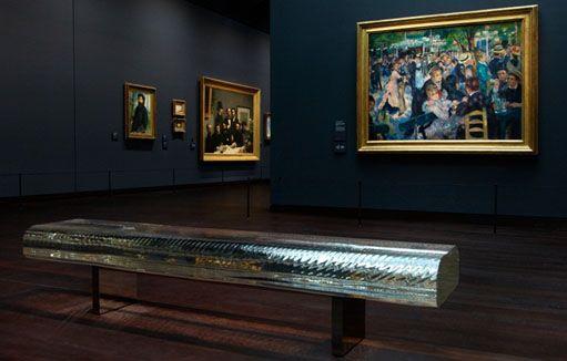 Tokujin Yoshioka - Water Block Glass Bench @museedorsay paris #EDIDA winner