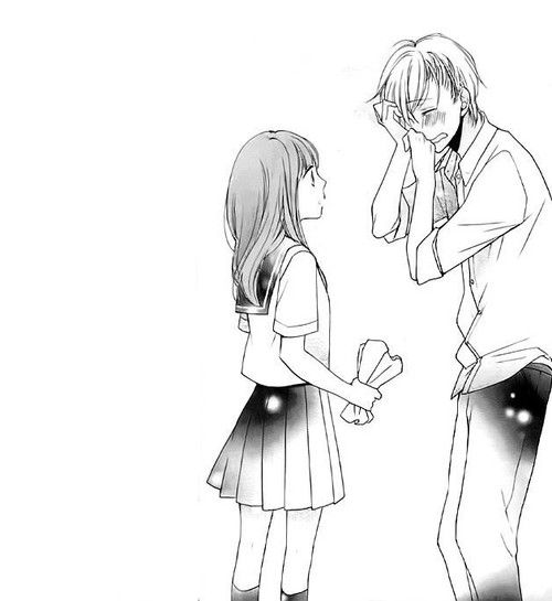 Full Body Anime Lineart Adorable Google Search Anime Lineart Romantic Anime Manga Cute