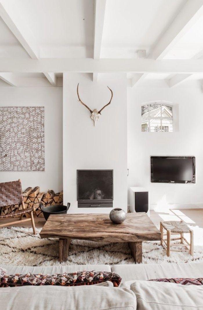 Les Meubles Scandinaves, Beaucoup Du0027idées En Photos! Deco InteriorsHouse  InteriorsHouse Interior DesignHome ToursSalonsCalmTouringHome DecorWhite  Walls