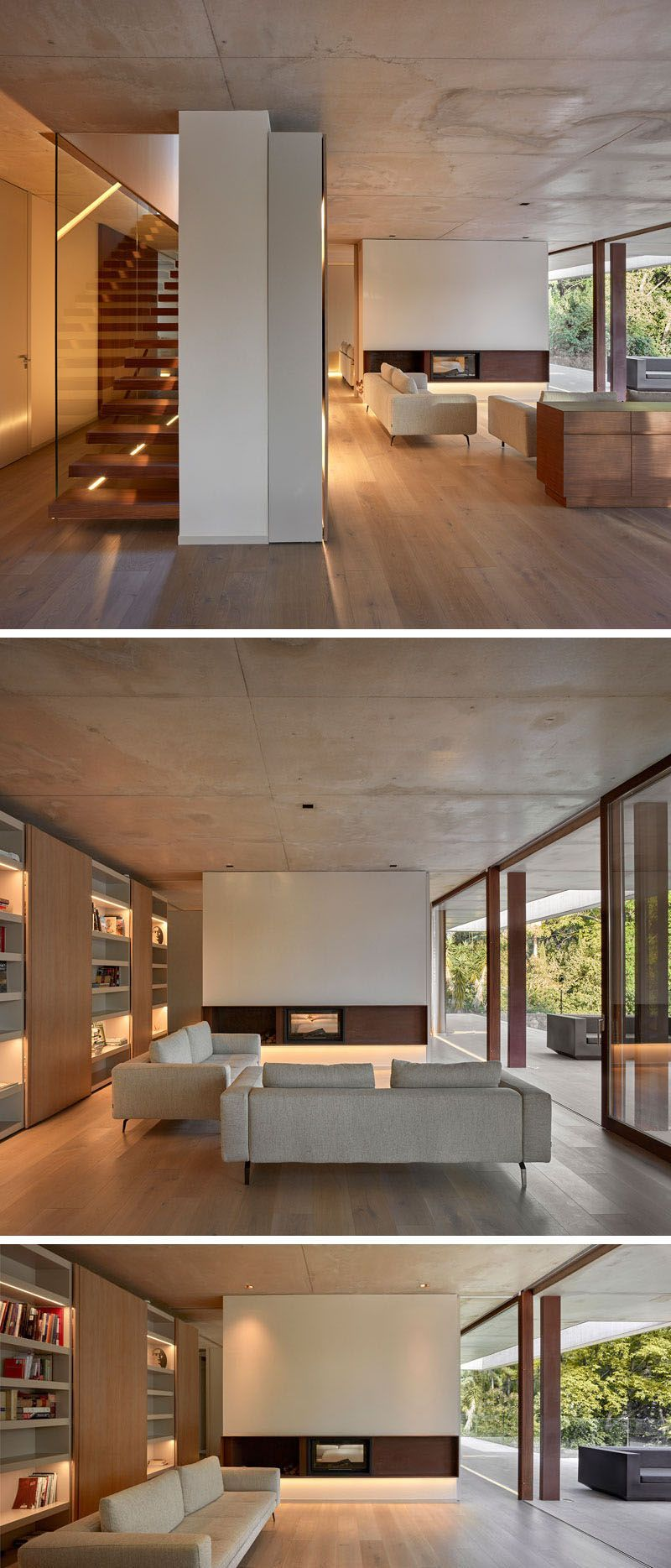 Home In The Pine Forest By Ramon Esteve Minimalist Decor