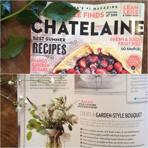.@GINNETTE Grimsley   Check out our step by step guide in #chatelaine magazine this month! Thanks t...   Webstagram