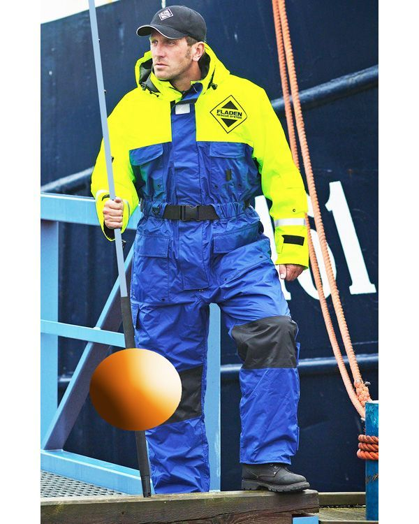 one piece insulated coverall fladen flotation suit on insulated work overalls id=86313