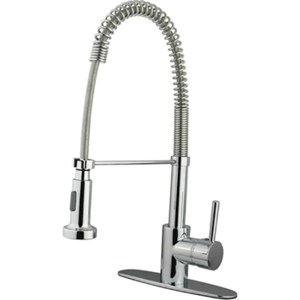 Pulldown Lever Handle Faucet Chrome Sku 8021053 In 2020
