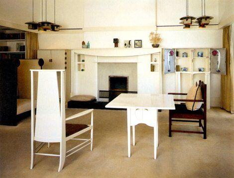 Raising The Banner Of Beauty Glasgow S Master Craftsman Mackintosh Furniture Charles Rennie Mackintosh Interior