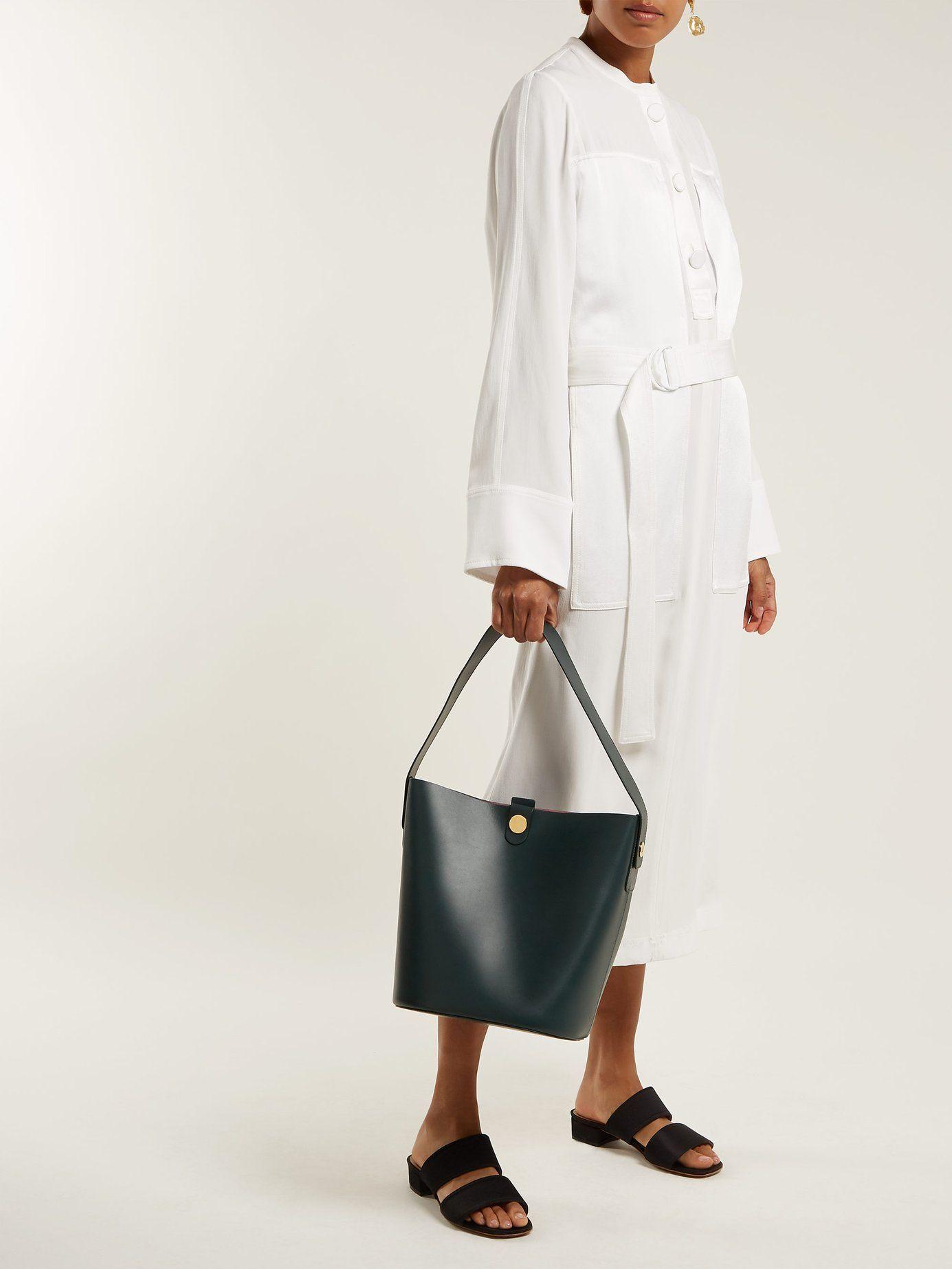 ebc47ce1e60 Swing large leather bag   Sophie Hulme   MATCHESFASHION.COM US ...
