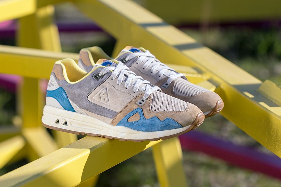 """A Close Look at the Le Coq Sportif """"Retro Affiches"""" Pack – Sneakers Magazine"""