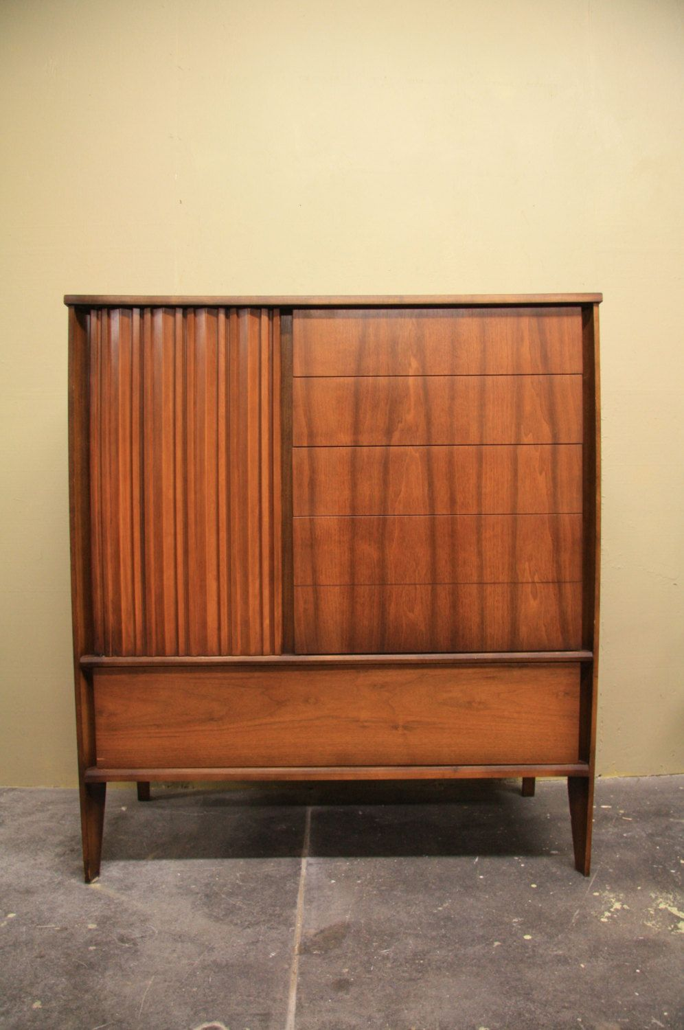 High Quality Mid Century Modern American Armoire Chest By Unagusta For Stada Series By  WrightFindsinMCM On Etsy