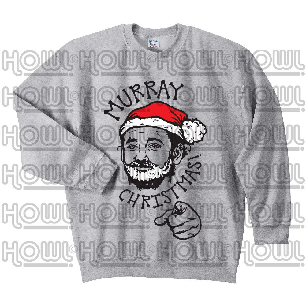 bill murray murray christmas fan art christmas sweater christmas jumper