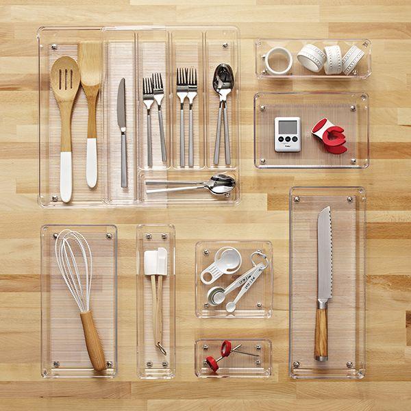 drawers clear interdesign plus clarity stuff drawer kitchen organizer