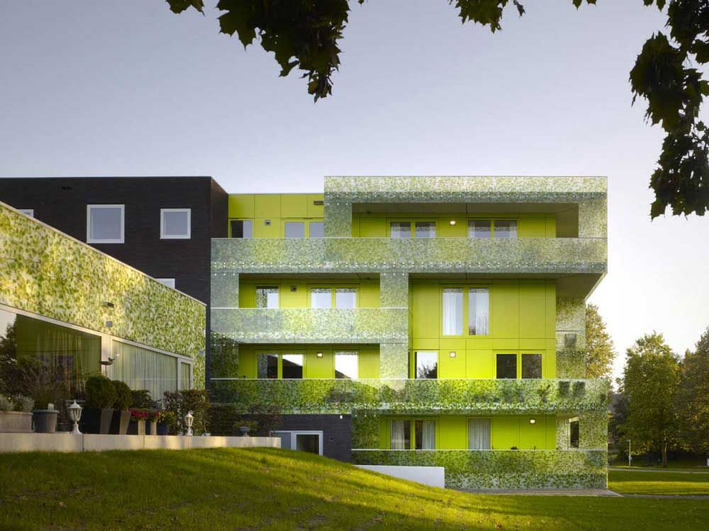 Superb Green Architecture | Green And Fresh Looking Apartment Architecture Design    Zeospot.com .