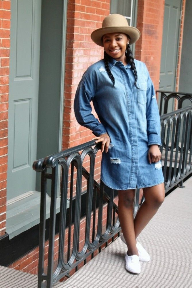 How To Rock A Frock While Freezing | CollegeFashionista