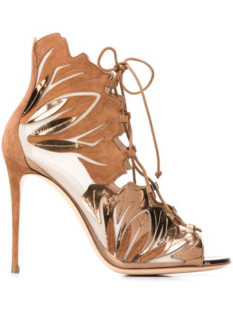 09e77e825 Casadei lace-up sandals  1