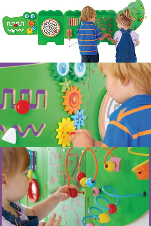 Learning Advantage Crocodile Activity Wall Panels In 2020 Toddler Decor Girls Sun Hat Kids Toys