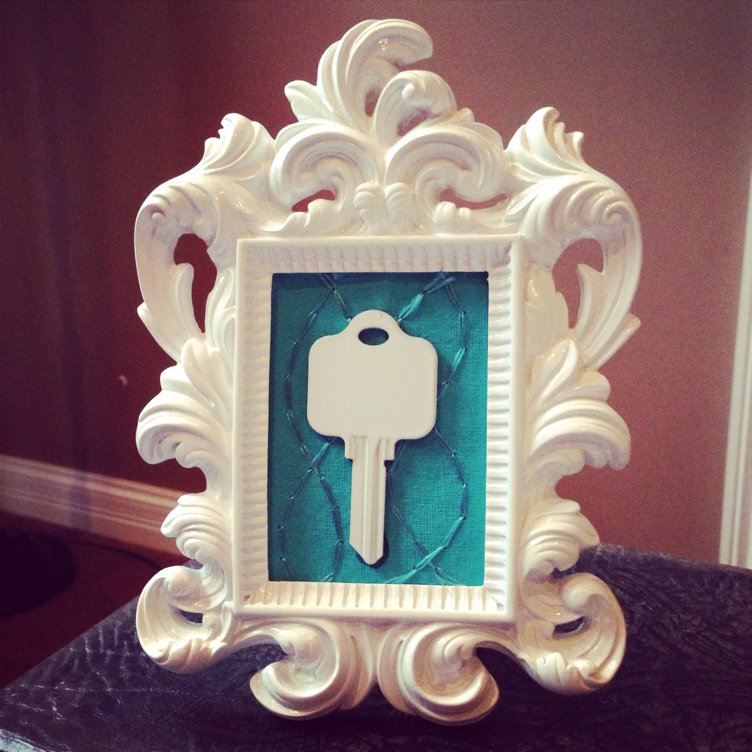 Framed House Key My Favorite Closing Gift For First Time -3081