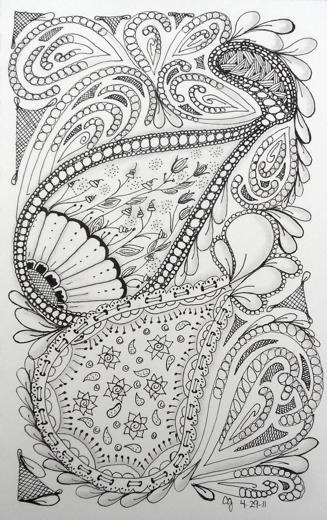 Catching Up The Week Zentangle Patterns Zentangle Drawings Doodle Patterns