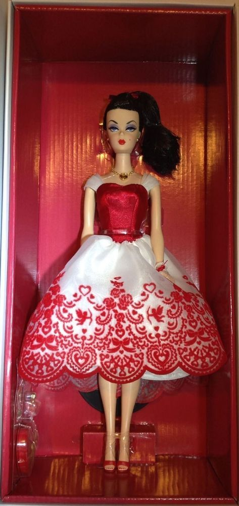 Holiday Hostess Cupid's Cupid Kisses Barbie Doll in SHIPPER! NRFB #Mattel #DollswithClothingAccessories