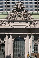 Grand Central Terminal, New York City   Beautiful architecture.  We ate lunch here.